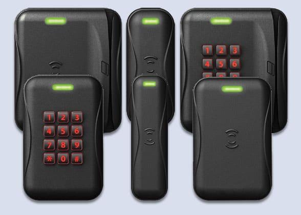 BadgePass multi-technology readers