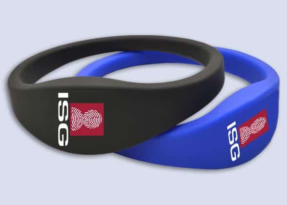 ISG access wristbands