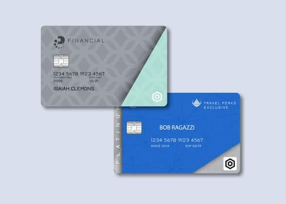 Datacard MX1100 card samples
