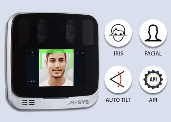 M2SYS Next-Gen Dual Iris Camera