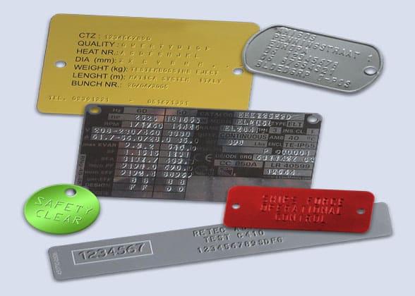 Matica C410 metal samples