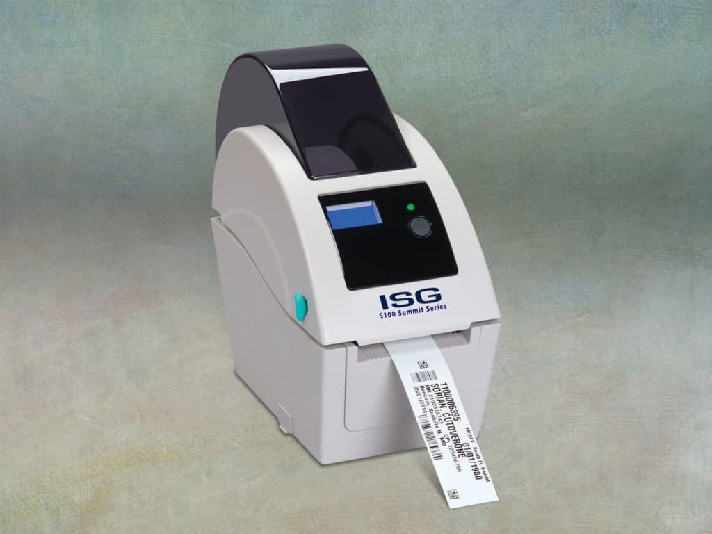 ISG S100 Desktop Thermal Printer