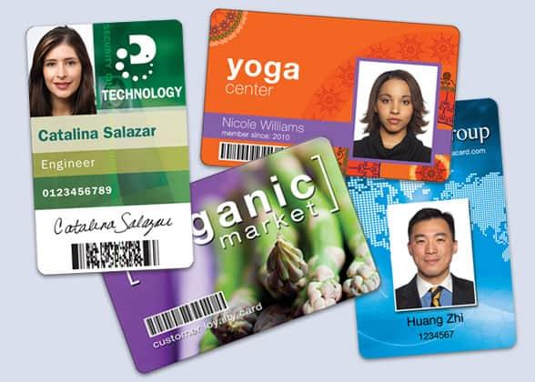 Datacard IDCentre ID card designs