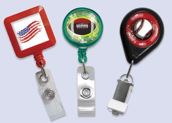 Designer Badge Reels