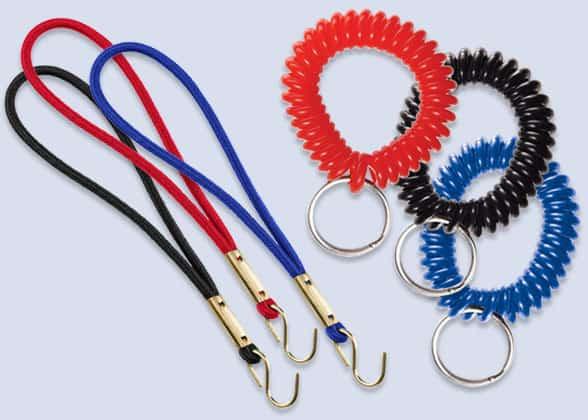 Elastic wristbands and wrist coils