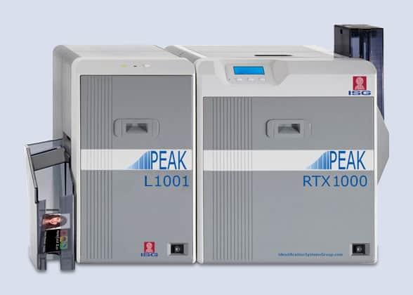 ISG PEAK RTX1000 with laminator