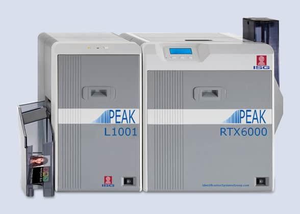 ISG PEAK RTX6000 with laminator
