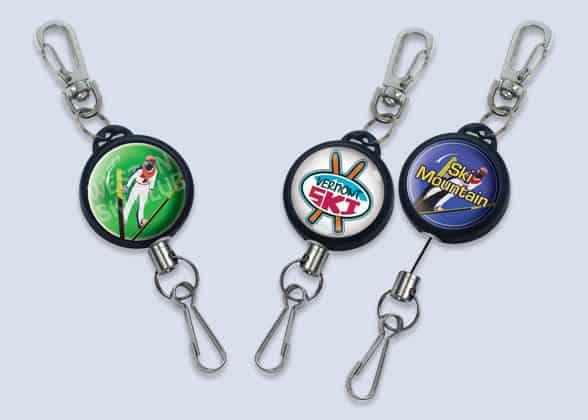 Ski-Sports Badge Reels
