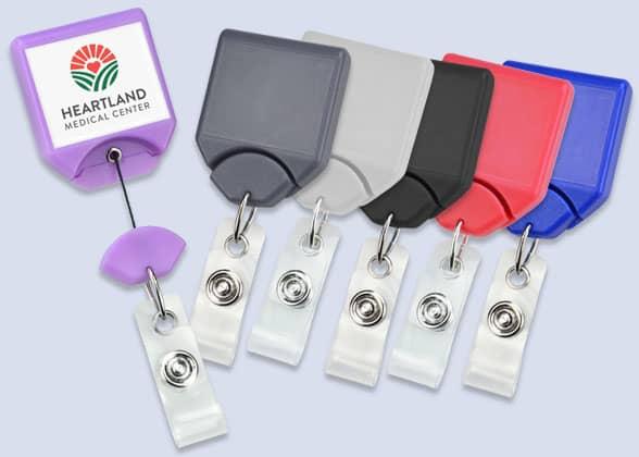 Twist-Free Badge Reels
